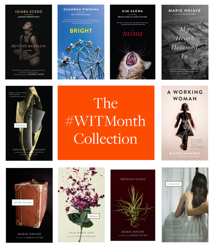 Women in Translation month collection image