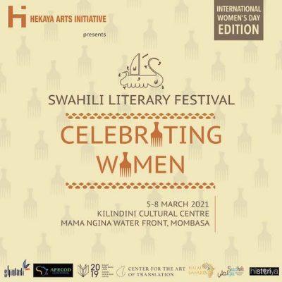 2021 Kiswahili Literature Festival poster image
